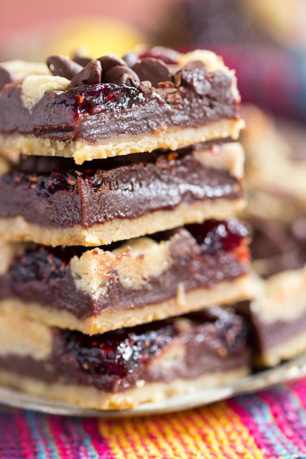 Raspberry Chocolate Chip Bars (10)