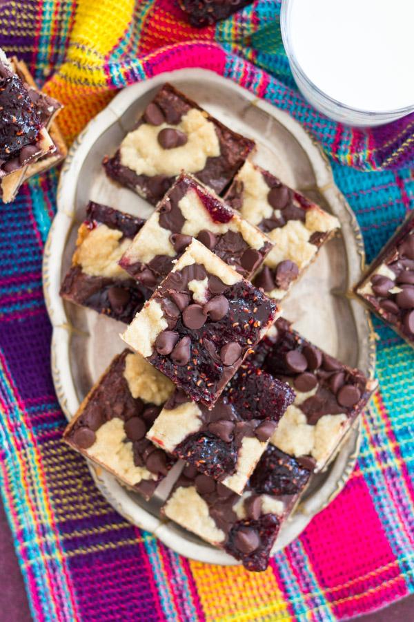 Raspberry Chocolate Chip Bars (4)