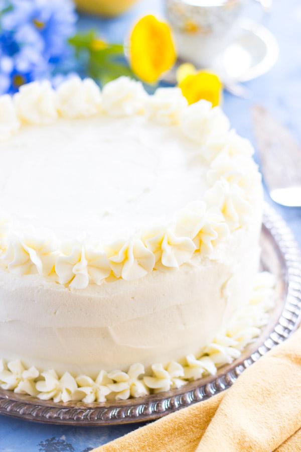 Banana Rum Cake image thegoldlininggirl.com (1)