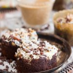 Coconut-Pecan Chocolate Cheesecake Muffins