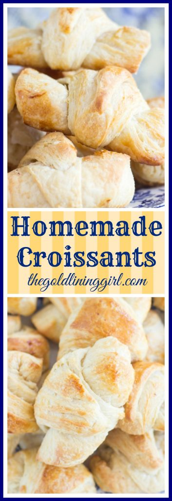 Homemade Croissants pin 2