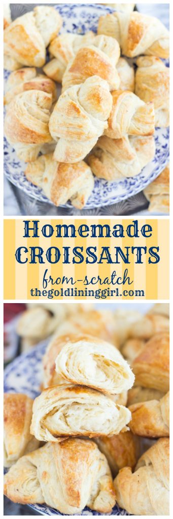 Homemade Croissants pin