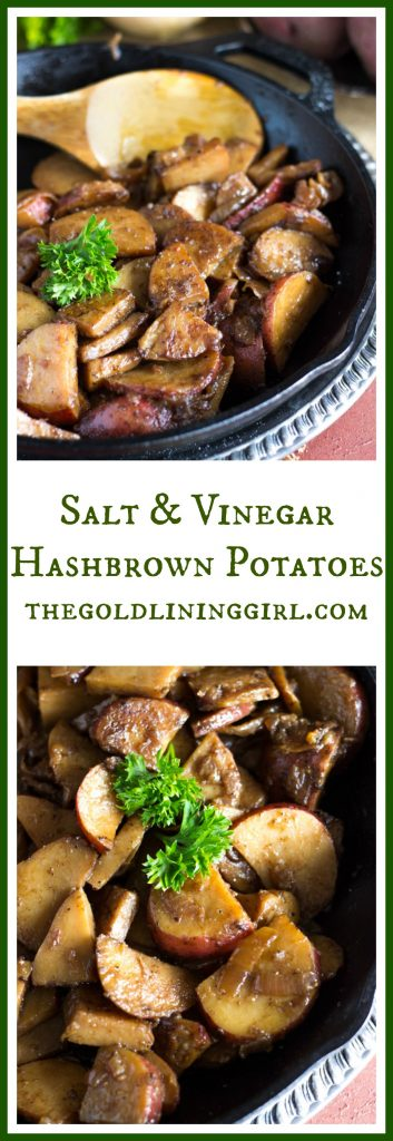 Salt & Vinegar Hashbrown Potatoes pin
