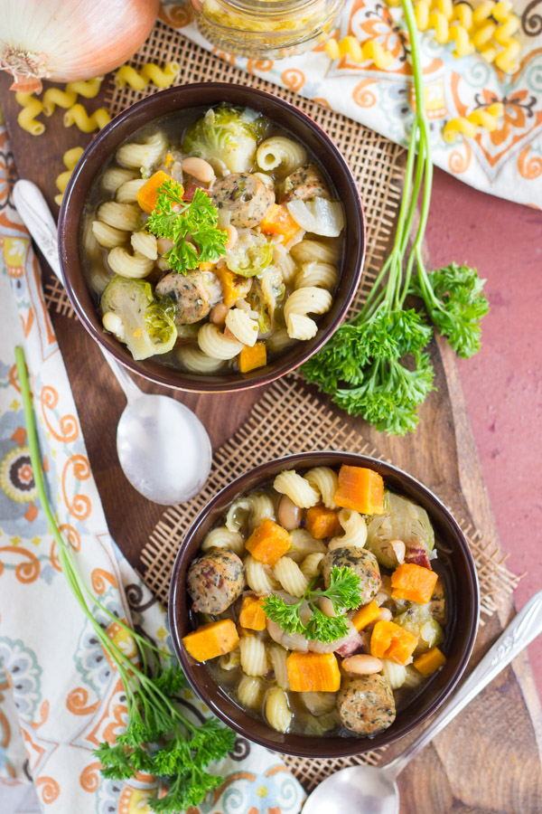Sausage and Bean Soup image (12)