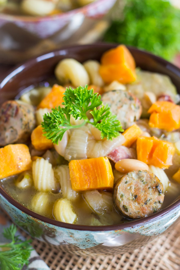 Sausage and Bean Soup image (2)