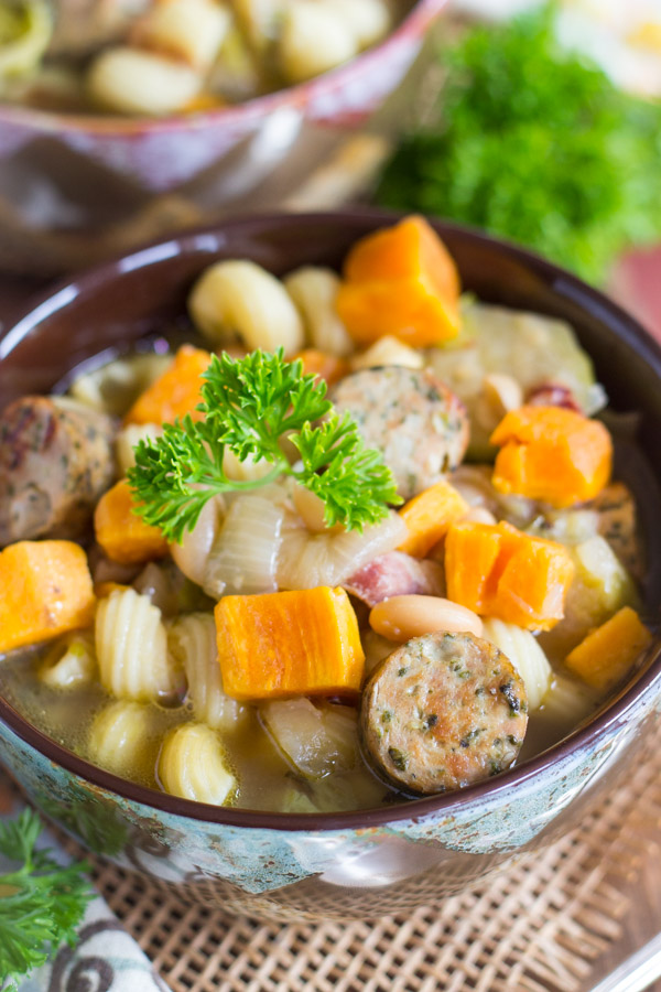 Sausage and Bean Soup image (3)