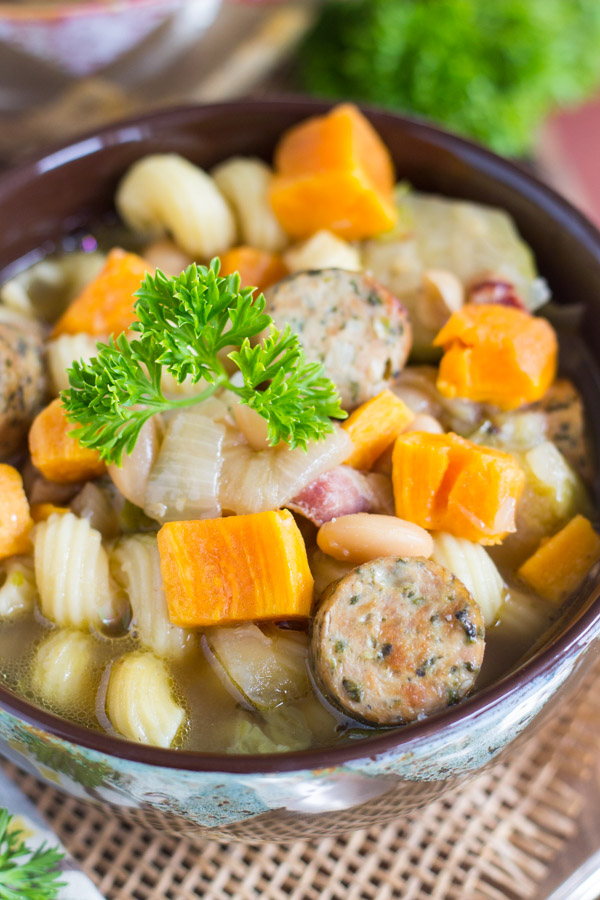 Sausage and Bean Soup image (4)