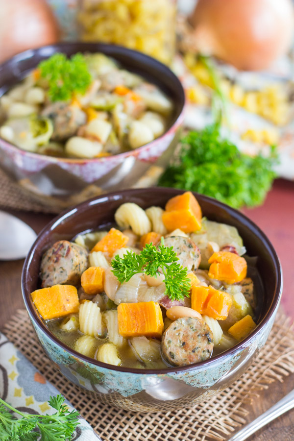 Sausage and Bean Soup image (7)