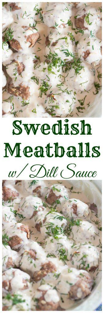 Swedish Meatballs Easy image pin