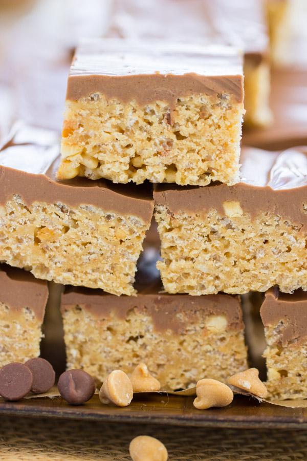 Peanut Butter Scotcheroos image thegoldlininggirl.com1