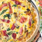 Quiche Pie recipe thegoldlininggirl.com (1)
