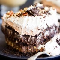 Quadruple Layer Chocolate Pudding Pie Recipe