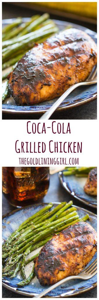 Coca-Cola Chicken recipe pin