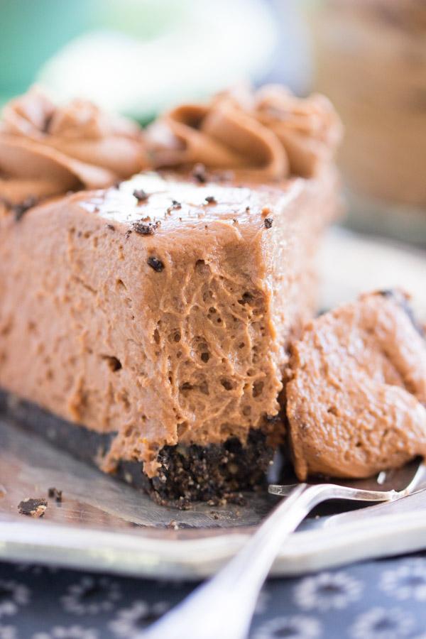 No Bake Nutella Cheesecake recipe thegoldlininggirl.com 33