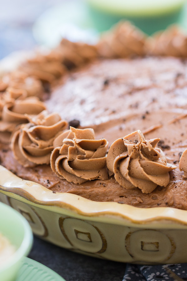 No Bake Nutella Cheesecake recipe thegoldlininggirl.com 8