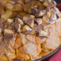Reese's Peanut Butter Cup Monkey Bread Recipe (Easy)