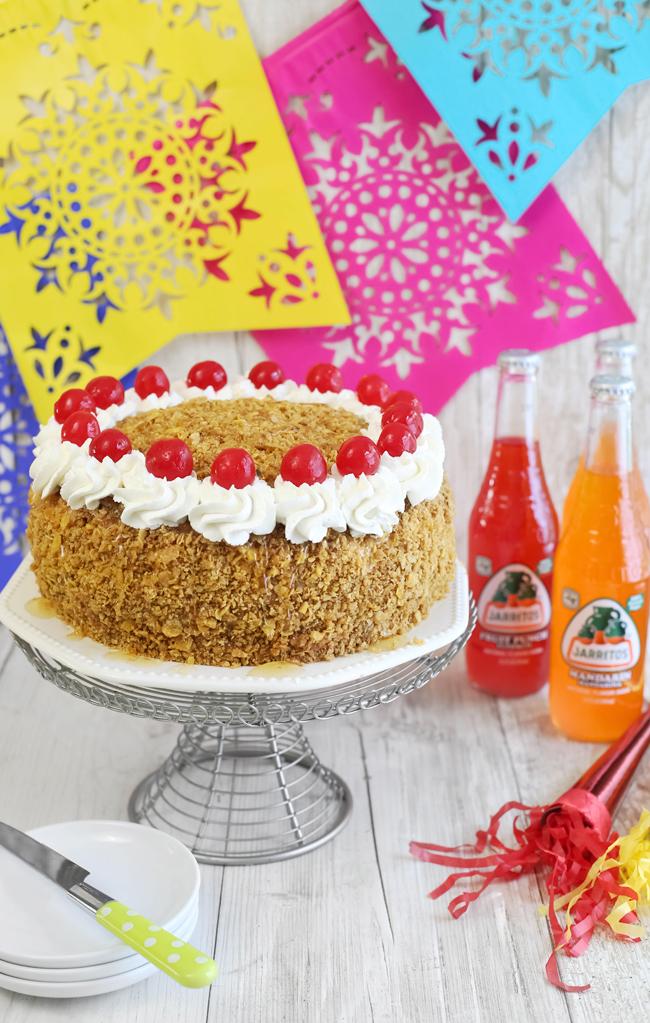 SprinkleBakes Fried Ice Cream Layer Cake