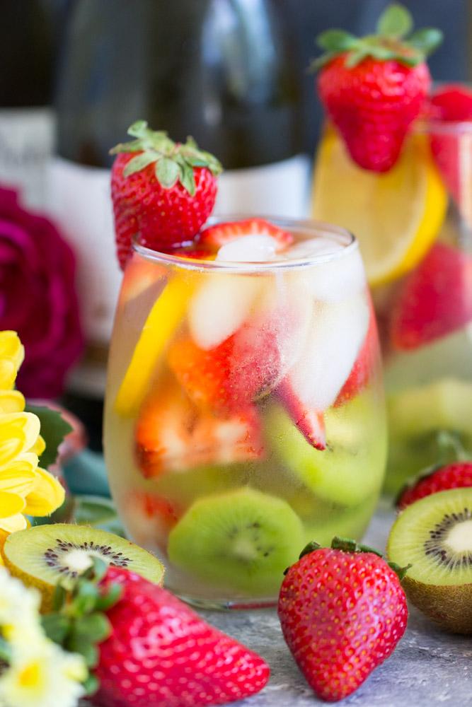 Strawberry Kiwi Sangria image thegoldlininggirl.com 4