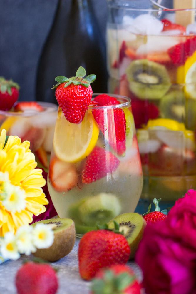Strawberry Kiwi Sangria image thegoldlininggirl.com 7