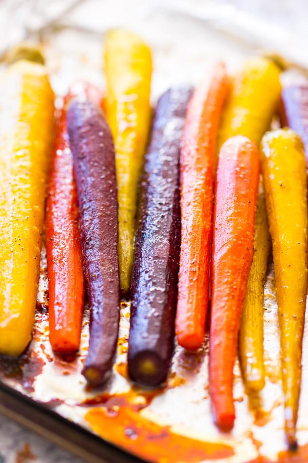 Baked Carrots Recipe image thegoldlininggirl.com 10