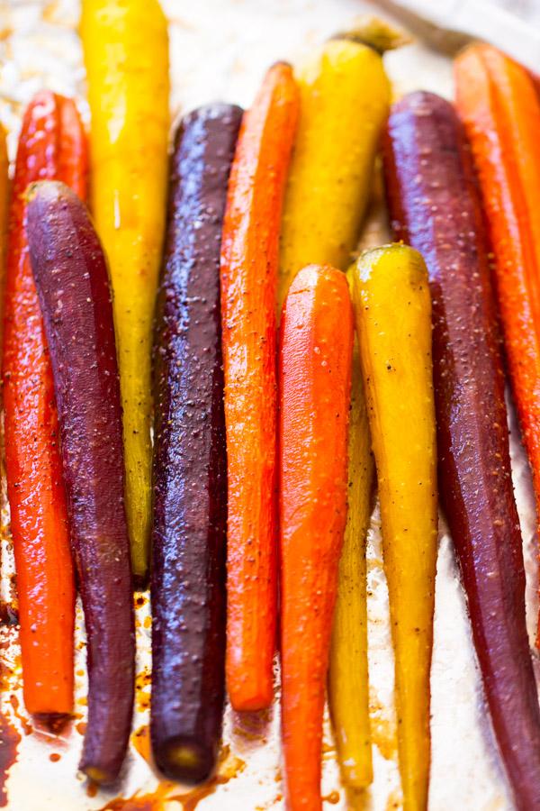 Baked Carrots Recipe image thegoldlininggirl.com 7