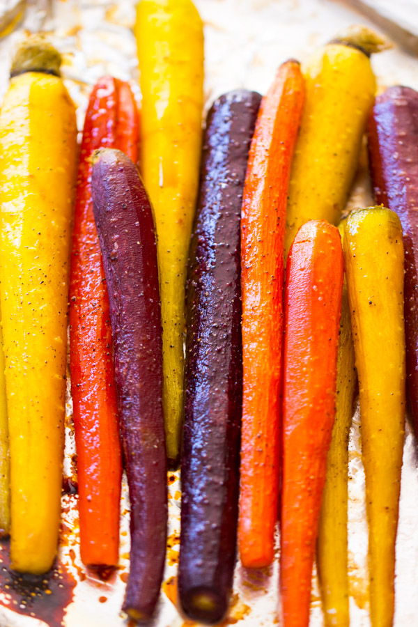 Baked Carrots Recipe image thegoldlininggirl.com 8