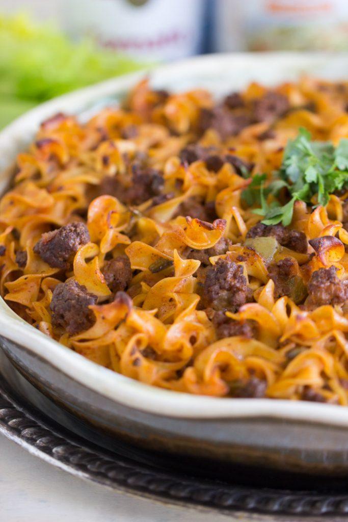 Grandma's Soup-to-Nuts Casserole recipe image thegoldlininggirl.com 9