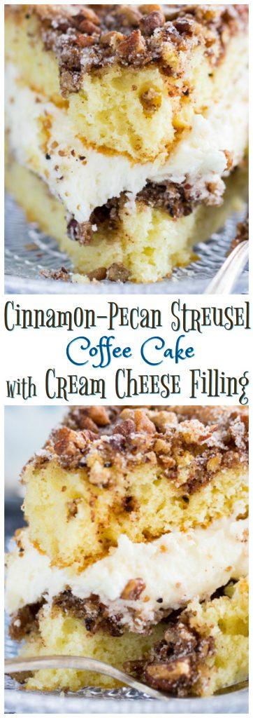 Layered Cinnamon Streusel Coffee Cake pin 1