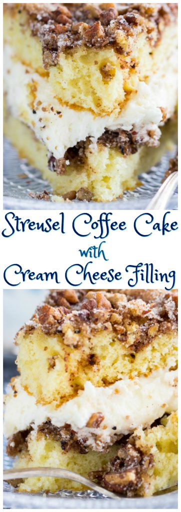 Layered Cinnamon Streusel Coffee Cake pin 2