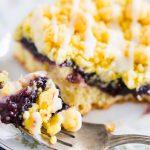 Lemon Blueberry Crumb Bars