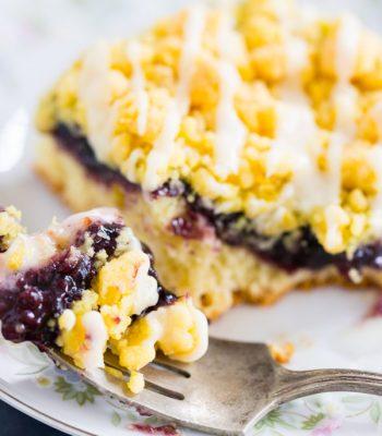 Lemon Blueberry Crumb Bars thegoldlininggirl.com 22