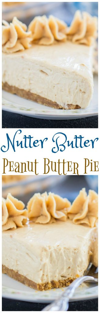 Nutter Butter Peanut Butter Pie pin 1