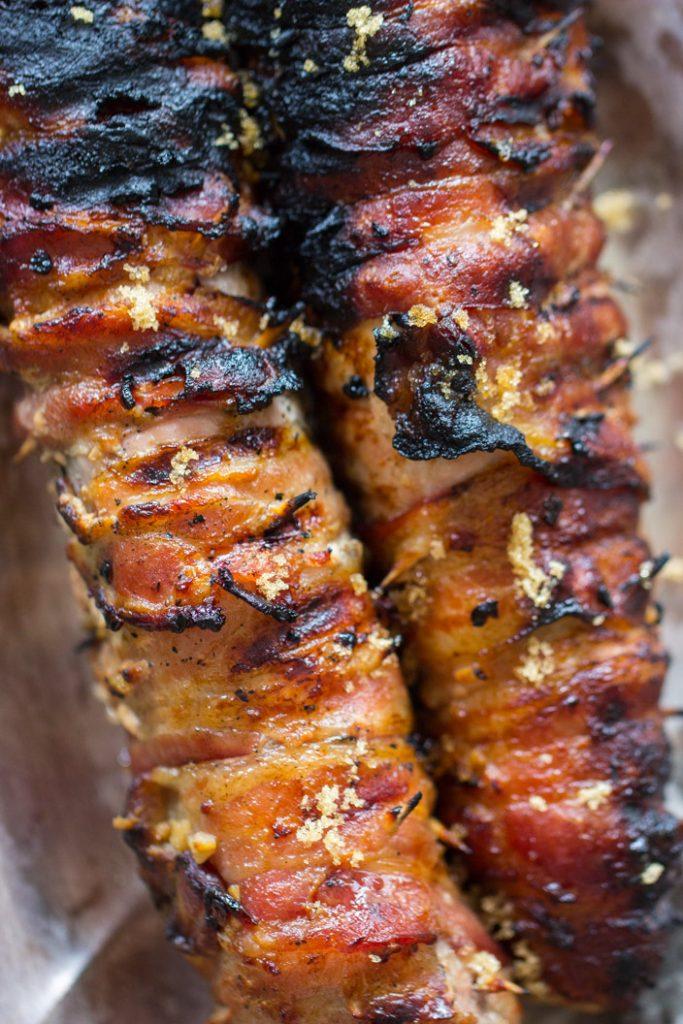 Bacon-Wrapped Pork Tenderloin recipe image thegoldlininggirl.com 10
