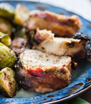 Bacon-Wrapped Pork Tenderloin recipe image thegoldlininggirl.com 600x900 1