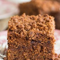 Chocolate Zucchini Coffee Cake