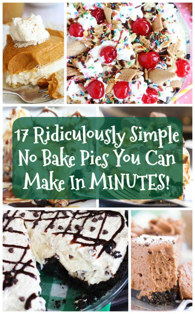 No Bake Pies thegoldlininggirl.com pin 2