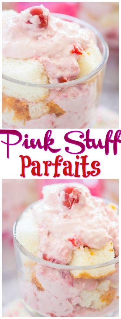 Pink Stuff Parfaits recipe thegoldlininggirl.com pin 2