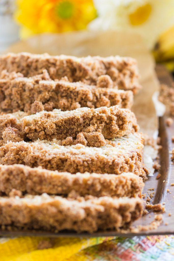 Banana Zucchini Bread recipe image thegoldlininggirl.com 14