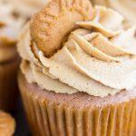 Cookie Butter Cupcakes recipe image thegoldlininggirl.com 15