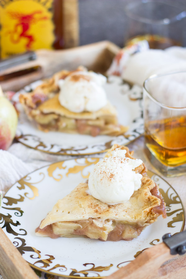 Fireball Apple Pie recipe image thegoldlininggirl.com 15