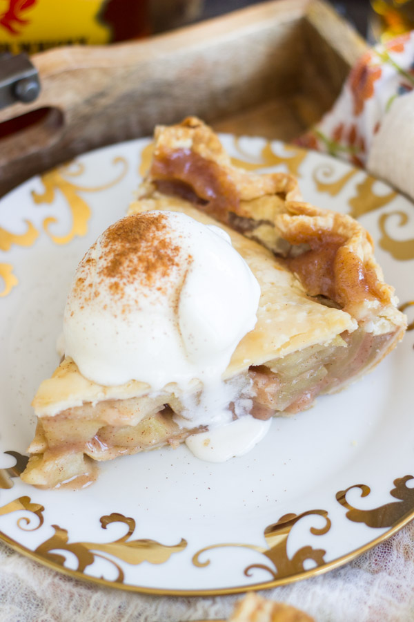 Fireball Apple Pie recipe image thegoldlininggirl.com 19