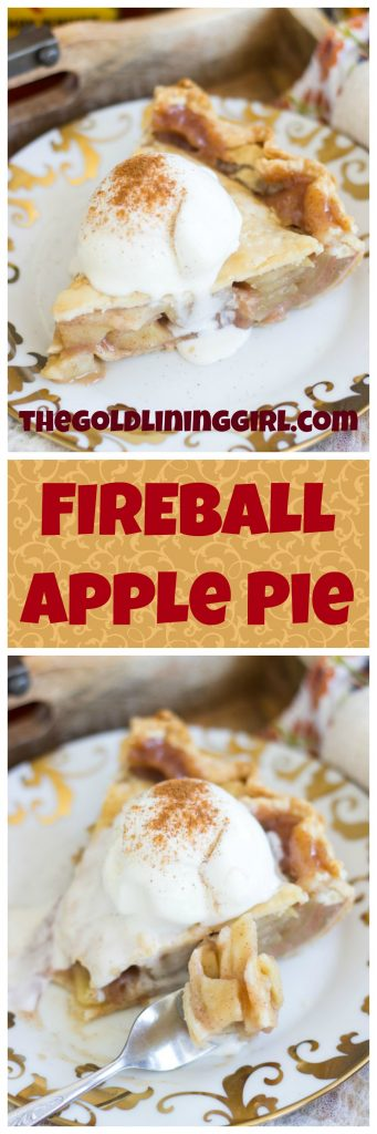 Fireball Apple Pie recipe image thegoldlininggirl.com 22