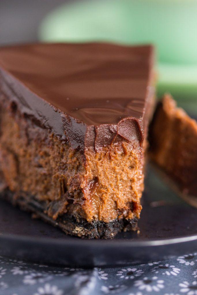 Mocha Cheesecake recipe image thegoldlininggirl.com 26