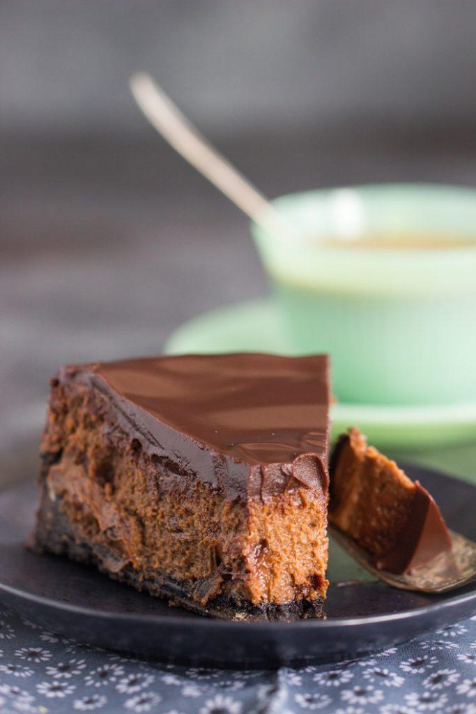 Mocha Cheesecake recipe image thegoldlininggirl.com 27