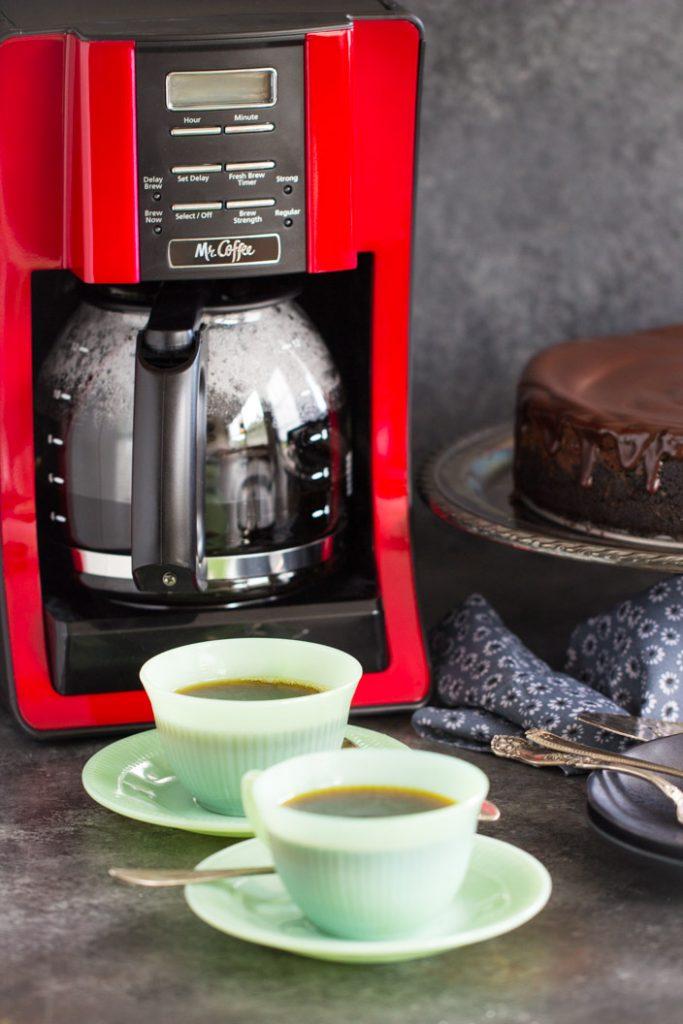 Mocha Cheesecake recipe image thegoldlininggirl.com 7