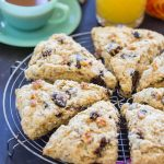 Walnut Fig Scones recipe image thegoldlininggirl 7