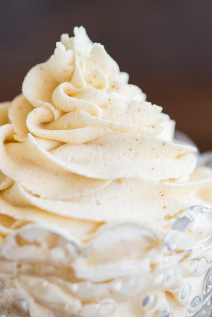 Brown Butter Buttercream Recipe image thegoldlininggirl.com 15
