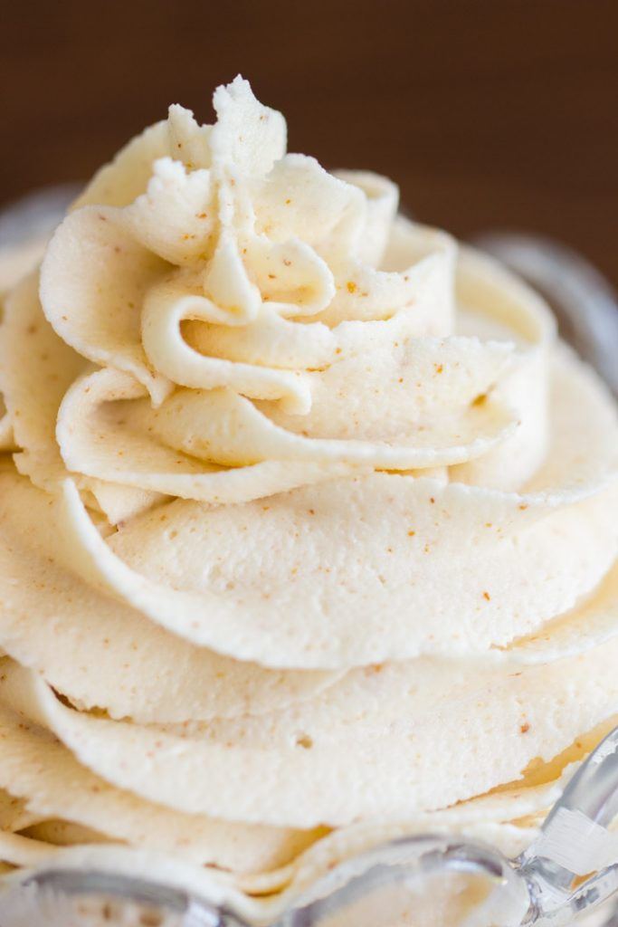 Brown Butter Buttercream Recipe image thegoldlininggirl.com 16