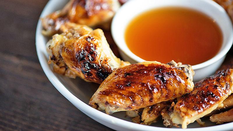 Fireball chicken wings