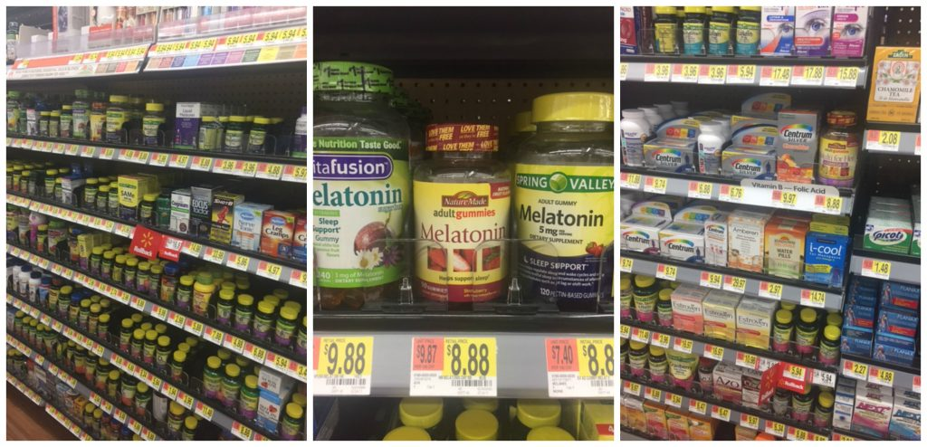 NatureMade @ Walmart collage